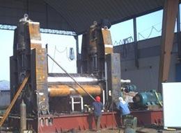 尼日利亚液压卷板机